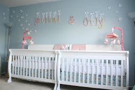 baby nursery ideas blue and pink giveaway caden lane crib