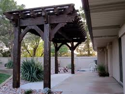 Small Pergola Kits by Over Size Posts With A Cantilever Roof On A Custom Timber Frame