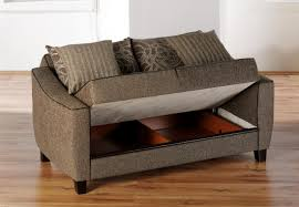living room small sofa bed sleeper sectional sofa with brown