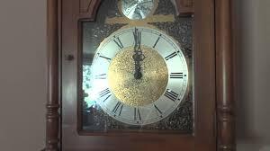 Grandmother Clock My Great Granpa U0027s Ridgeway Grandmother Clock Plays Westminster