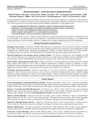 Construction Project Coordinator Resume Sample by Innovation Ideas Safety Manager Resume 1 Professional Construction