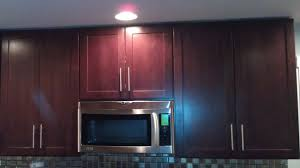 kitchen cabinets crown molding or flush with ceiling doors