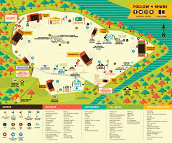 Map Card Austin by Information U2013 Acl Music Festival