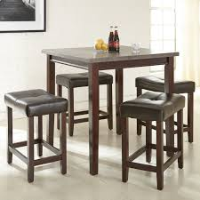 Five Piece Dining Room Sets Steve Silver Aberdeen 5 Piece Counter Height Dining Set Rich