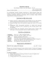 Best Software Engineer Resume by Resume Software Writer