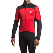 red cycling jacket pearl izumi pro pursuit wind cycling jersey for men save 50