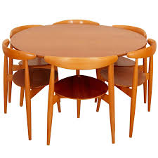 Teak Dining Room Table And Chairs by Hans J Wegner