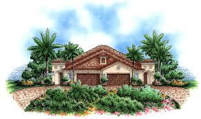 Home Plan Com Mediterranean House Plans Home Design Calista 17748