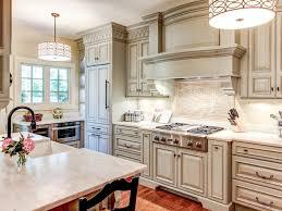Dark And White Kitchen Cabinets White Kitchen Cabinets Black Appliances Dark Brown Laminated