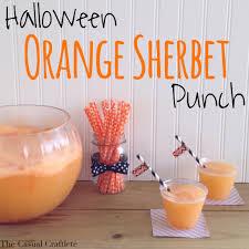halloween orange sherbet punch sherbet punch halloween parties