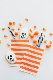 orange striped party bags your guests will never forget this