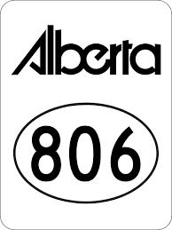 Alberta Highway 806