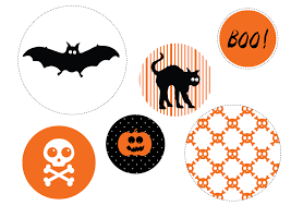 Printable Halloween Decorations Scary by Printable Halloween Decorations