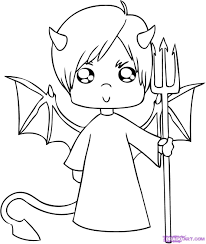 halloween coloring pages devil coloring pages halloween devil