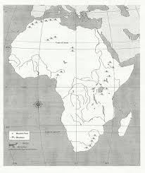 Physical Map Of Africa blank africa physical map too cool for pinterest