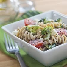 Pasta Salad Ingredients Broccoli U0026 Feta Pasta Salad Recipe Eatingwell