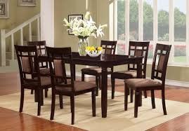 Wood Dining Room Solid Wood Dining Table And Chairs