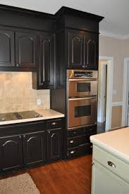 How To Paint Kitchen Cabinets Video Kitchen Black Cabinets Yeo Lab Com