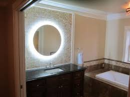 wall mounted makeup mirror round doherty house smart wall