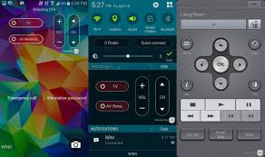 connect samsung smart tv to home theater smart remote on the samsung galaxy s5 android central