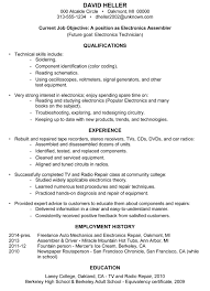 Good Resume Examples by Writing A Resume For Middle Students