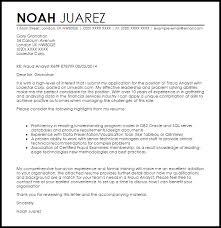 Laboratory Technician Cover Letter Sample