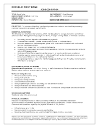 cashier job description resume sample skills and abilities in resume examples thelongwayupinfo find teller job resume cv cover letter skills for a job resume