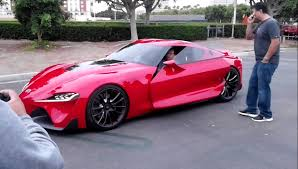 New Supra Price Toyota Ft 1 Being Unloaded At Irvine Cars U0026 Coffee Youtube