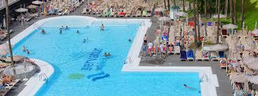 Map Of Waikiki Hotels In Playa Del Ingles Servatur Waikiki