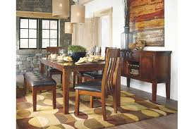 Ralene Dining Room Bench Ashley Furniture HomeStore - Ashley furniture dining table with bench
