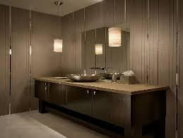 luxurious bathroom illuminated with gorgeous bathroom vanity