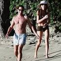 Jemima Khan Image Stars Holiday Vacations   BARBADOS   Hugh Grant, Jemima Khan ... Picture 2