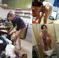 奥さん 盗撮の画像|寝てる奥さんのおっぱいを丸出しにして盗撮した家庭内エロ画像