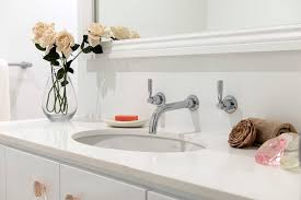 Bathroom Sink Wall Faucets by Undermount Sink In Bathroom Contemporary With Undermount Sink In