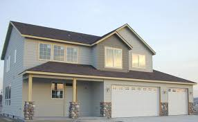 House Plans With 3 Car Garage by Two Story Garage Home Plans