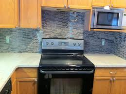 kitchen glass tile backsplash ideas for kitchens blue kitchen
