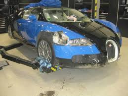 Bugatti Veyron Engine Price Wrecked Bugatti Veyron Sells At Auction For 277k