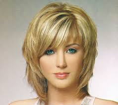 layered hair and bangs best haircut style