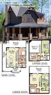 Ranch House Plans With Wrap Around Porch Plan 18733ck Wrap Around Porch House And Cabin