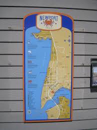 Newport Oregon Map by Newport Historic Bay Front Map Newport Oregon U0027you Are Here