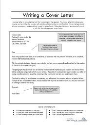Report Cover Letter