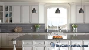 assembled kitchen cabinets pearl glaze rta cabinet hub