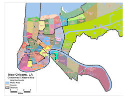 Ninth Ward New Orleans Map by Justice Roars June 2011