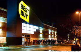 black friday lines target best buy to open at midnight on black friday nov 4 2011