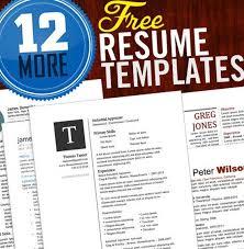 Top   Infographic Resume Templates Ersum net The Emma Resume   Creative Resume Template