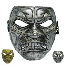 300 Halloween Costume Halloween Plastic Mask Fashion Theme Scary Mask Film