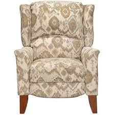 cream u0026 tan high leg recliner jamie rc willey furniture store