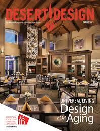 desert design magazine spring 2017 by arizona north chapter of
