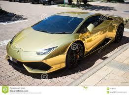 Lamborghini Huracan 2016 - gold lamborghini huracan 2016 editorial photography image 68765472