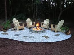 Ideas For Fire Pits In Backyard by Best 20 Rock Fire Pits Ideas On Pinterest Backyard Pool